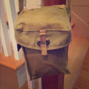 WW II Gas Mask Bag great day bag! for sale